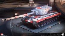 Шкурка T-34 в американском стиле для WOT 0.9.13
