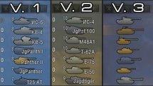 Улучшенные иконки танков для World of Tanks 0.9.15.2