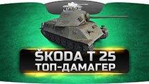 ТОП-ДАМАГЕР (Обзор Skoda T 25)