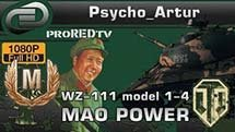 WZ-111 model 1-4 MAO POWER