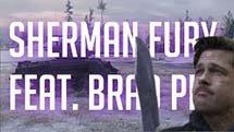 САМЫЙ ИНТЕНСИВНЫЙ ОБЗОР - M4A3E8 Sherman Fury feat. Brad Pitt
