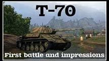 VOD по Т-70 от HomishOfficial. Первый бой и впечатления