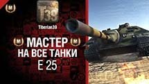 Мастер на все танки №21 E 25 - от Tiberian39