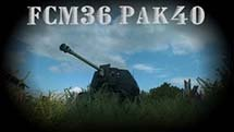 FCM36 Pak 40: Маленький нагибатор
