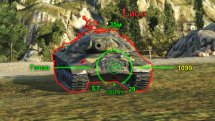 Прицел «Strike» от Andre_V для World of Tanks 0.9.16