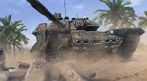 Встречайте современные танки в игре
