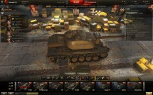 Ангар миллиардера для World of Tanks 0.9.13
