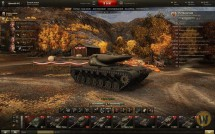 Осенний ангар для World of Tanks 0.9.13