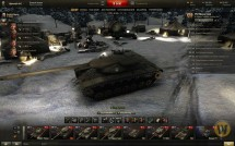Новогодний ангар для World of Tanks 0.9.9