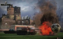 Играем в футбол с World of Tanks!