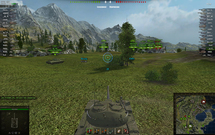 Прицел turquoise-2 для World of Tanks 0.9.15