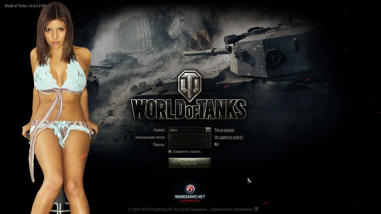 Мод Заставка Для World Of Tanks Девушки Порно