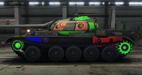 скачать мод на шкурки на world of tanks