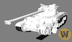 Белые трупы танков в целях World of Tanks 0.9.19.1