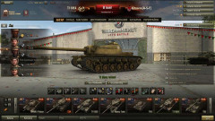 Ангар «Wargaming 16 лет» для World of Tanks 0.9.17.0.3