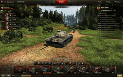 Лесной ангар для World of Tanks 0.9.9