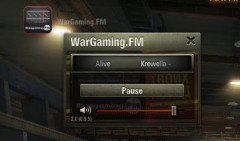 Радио Wargaming FM в ангаре для World of Tanks 1.2.0.1