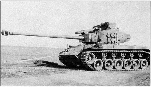 Настоящий танк T26E4 Super Pershing