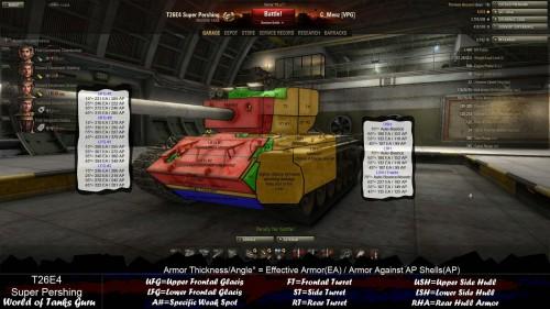 ТТХ T26E4 Super Pershing